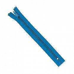 Fermoar clasic - 20cm, Turcoaz-inchis