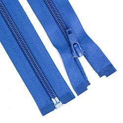 Fermoar detasabil spiralat, 5mm - 90cm, Albastru-deschis