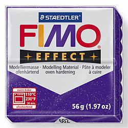 FIMO Effect 57g - Glitter Purple 602