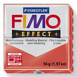 FIMO Effect 57g - Translucent Red 204