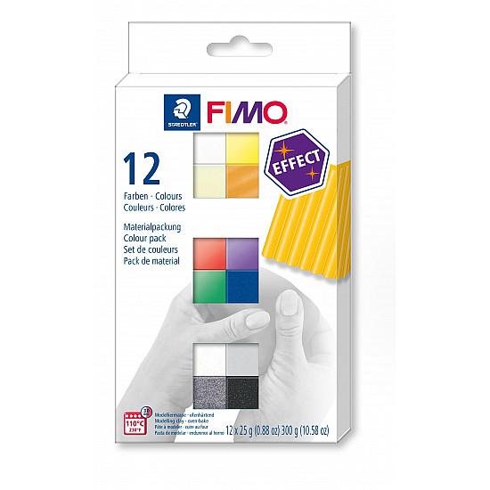 FIMO effect - Set 12 culori - Effect Colours