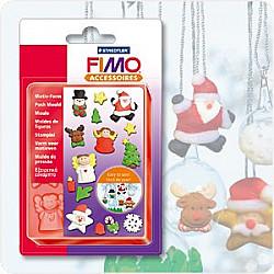 FIMO - Push Moulds - Craciun