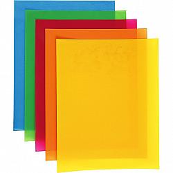 Folii din plastic care se micsoreaza (Shrink Plastic), 20x30 cm, Galben 1 buc.
