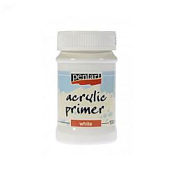 Grund acrilic Pentart (Alb) - 100ml