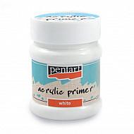Grund acrilic Pentart (Alb) - 230ml
