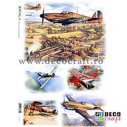 Hartie de orez A4 - Avioane