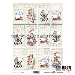 Hartie de orez A4 - Bebe si carucioare vintage
