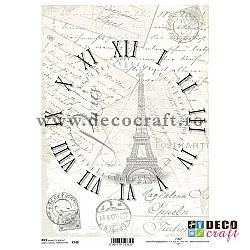 Hartie de orez A4 - Ceasul din Paris