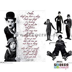 Hartie de orez A4 - Charlie Chaplin