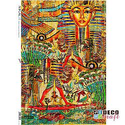 Hartie de orez A4 - Colaj egiptean