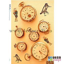Hartie de orez A4 - Colectia de ceasuri