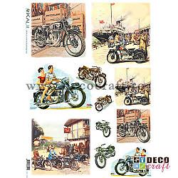 Hartie de orez A4 - Motociclete