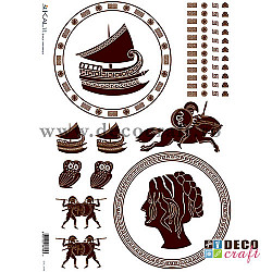 Hartie de orez A4 - Stil grecesc