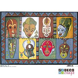 Hartie de orez A4 - Traditional african