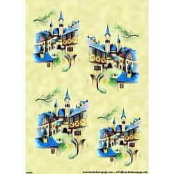 Hartie de orez - Castel