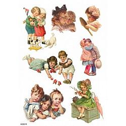 Hartie de orez - Joaca de copii