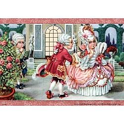 Hartie de orez - La curtea reginei