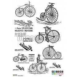 Hartie de transfer A4 - Biciclete vintage