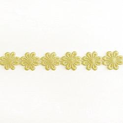 Banda flori Galben, 2.5cm