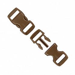 Mini Tridenti, 15x29 mm, maro