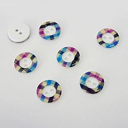 Nasturi cu doua gauri, 12 mm - Carouri