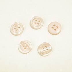 Nasturi cu patru gauri, 11 mm - Ivoar