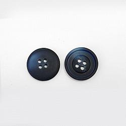 Nasturi cu patru gauri, 15 mm - Bleumarin