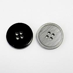 Nasturi cu patru gauri, 21 mm - Gri