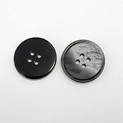 Nasturi cu patru gauri, 21 mm - Gri-inchis