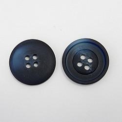 Nasturi cu patru gauri, 23 mm - Bleumarin