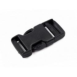 Cataramă trident, lățime 25 mm (pachet 5 perechi)