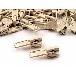 Cursor fermoar injectat, 5 mm (pachet 10 buc.) - Almond Oil