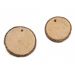 Rondele din lemn (pachet 20 buc.)