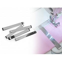 Clips / Clemă materiale textile (pachet 20 buc.) - nichel