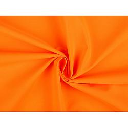 Tesatura Softshell pentru vară, la metru - portocaliu reflectorizant