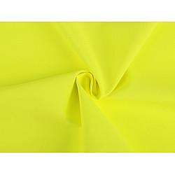 Tesatura Softshell pentru vară, la metru - galben reflectorizant
