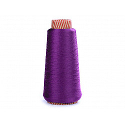 Ață elastică pentru overlock, 5000 m - mov purpuriu