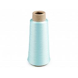 Ață elastică pentru overlock, 5000 m - verde mentol