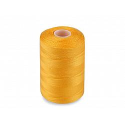 Ață sintetica 40/2, 1000 m - galben muștar