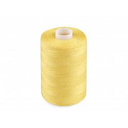 Ață sintetica 40/2, 1000 m - galben narcisă