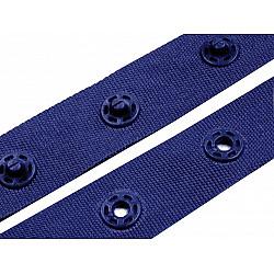 Banda cu capse la metru, 18 mm - Albastru