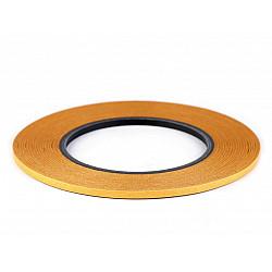 Bandă dublu adezivă pentru textile Stylefix, 4 mm - transparenta
