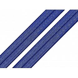 Bias elastic, lățime 16 mm (pachet 5 m) - albastru capri