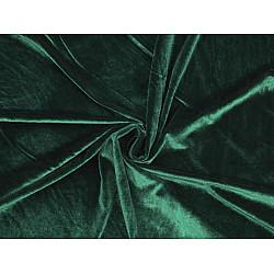 Catifea elastică la metru - verde închis
