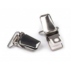 Clips pentru bretele, lățime 20 mm (pachet 2 buc.) - nichel