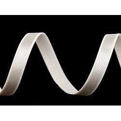Elastic satinat, lățime 10 mm (rola 25 m) - crem foarte deschis