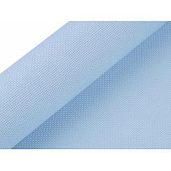 Etamină pentru brodat Kanava, lățime 50 cm (rola 5 m) - bleu nu-mă-uita