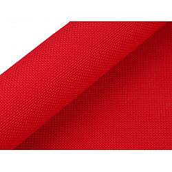 Etamină pentru brodat Kanava, lățime 50 cm (rola 5 m) - roșu