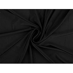 Jerse elastic (Sportswear), la metru - negru