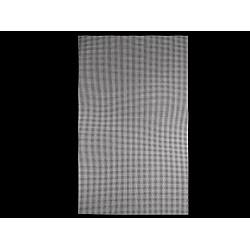 Plasă din plastic pentru brodat, 34,5x57 cm - alb